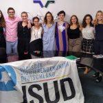 Jóvenes de la Unión de Estudiantes Judíos de Alemania visitaron la DAIA