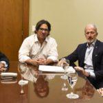 El ministro Garavano se reunió con la DAIA