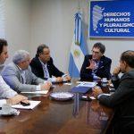 El secretario de Derechos Humanos recibió a la DAIA