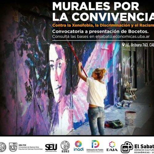 Murales por la convivencia contra la discriminación, la xenofobia y el racismo