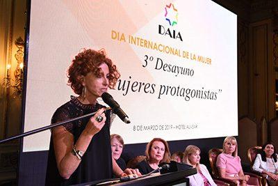"""Discurso de Patricia Manusovich en el Desayuno """"Mujeres Protagonistas"""""""