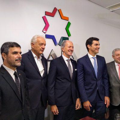 Juan Manuel Urtubey visitó la DAIA