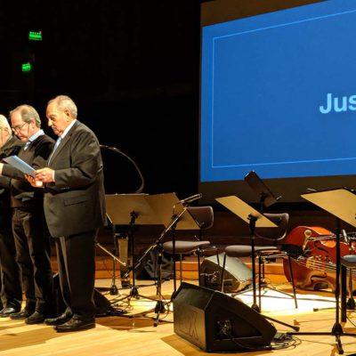 Emotivo concierto homenaje, a 25 años del atentado