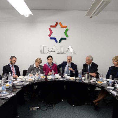 La DAIA recibió a la Comisaria de Justicia de la Unión Europea