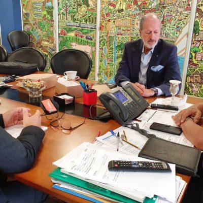 El Intendente de Berazategui recibió a la DAIA