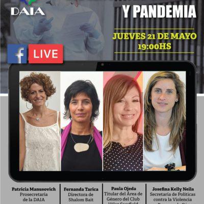 Conferencias de la DAIA: Violencia de género y pandemia