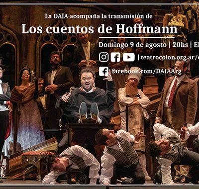 Gala virtual del Teatro Colón: La DAIA acompañará la transmisión de Los cuentos de Hoffmann