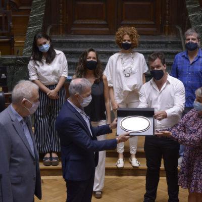 Distinguieron a la DAIA en la Legislatura de la Ciudad