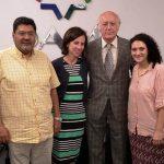 La vicepresidenta de la comunidad judía de Varsovia visitó la DAIA