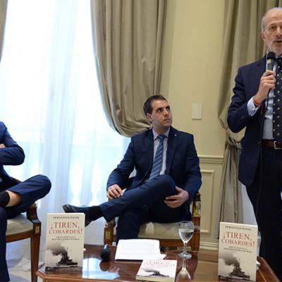 """Se presentó el libro """"¡Tiren, cobardes! Uruguayos en la Segunda Guerra Mundial"""""""