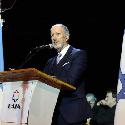 Discurso de Jorge Knoblovits en el acto central del Día del Holocausto