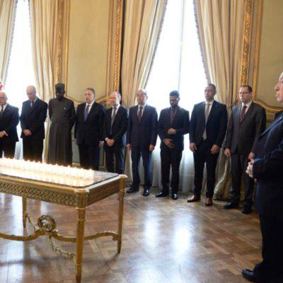 La DAIA y la embajada de los Estados Unidos recordaron a víctimas del terrorismo internacional