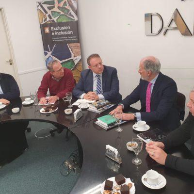 El vicepresidente de la Organización Sionista Mundial visitó la DAIA