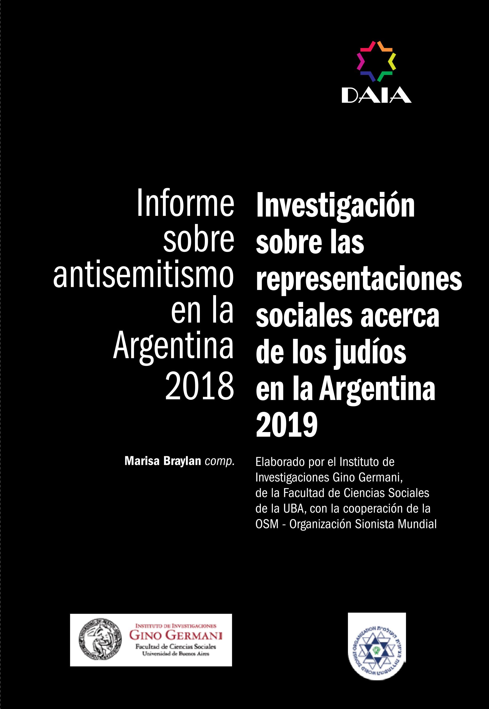 Informe sobre Antisemitismo en la Argentina 2018