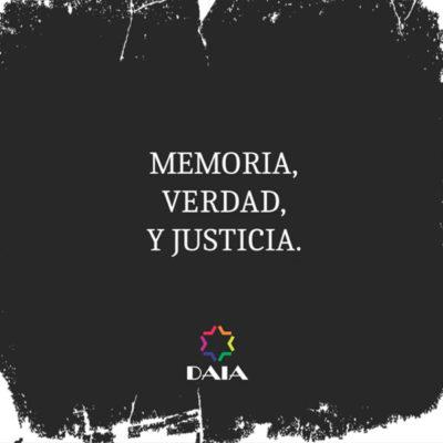 Memoria, verdad y Justicia: A 26 años del atentado perpetrado contra la AMIA-DAIA