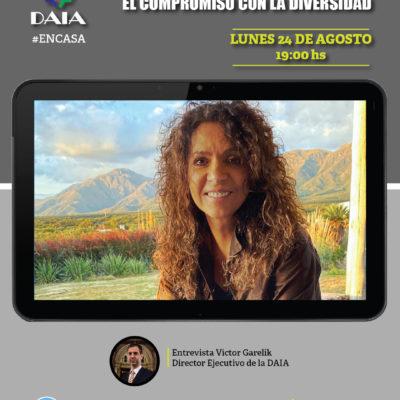 La DAIA invita a un diálogo abierto con Patricia Sosa: El compromiso con la diversidad