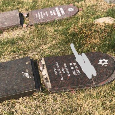 Rosario: «Repudiamos el ataque contra el cementerio judío nuevo»