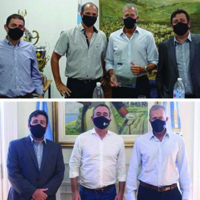 Rosario: Encuentros de la DAIA con el intendente de la ciudad y la comunidad judía local