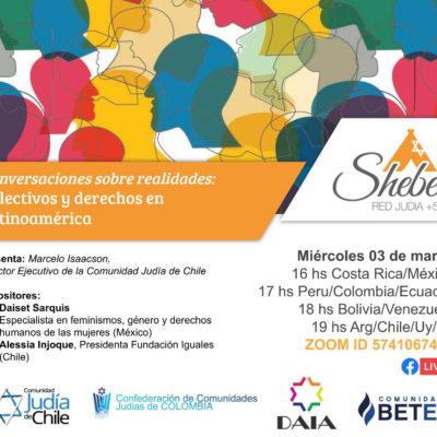 Conferencia virtual | Conversaciones sobre realidades: Colectivos y derechos en Latinoamérica