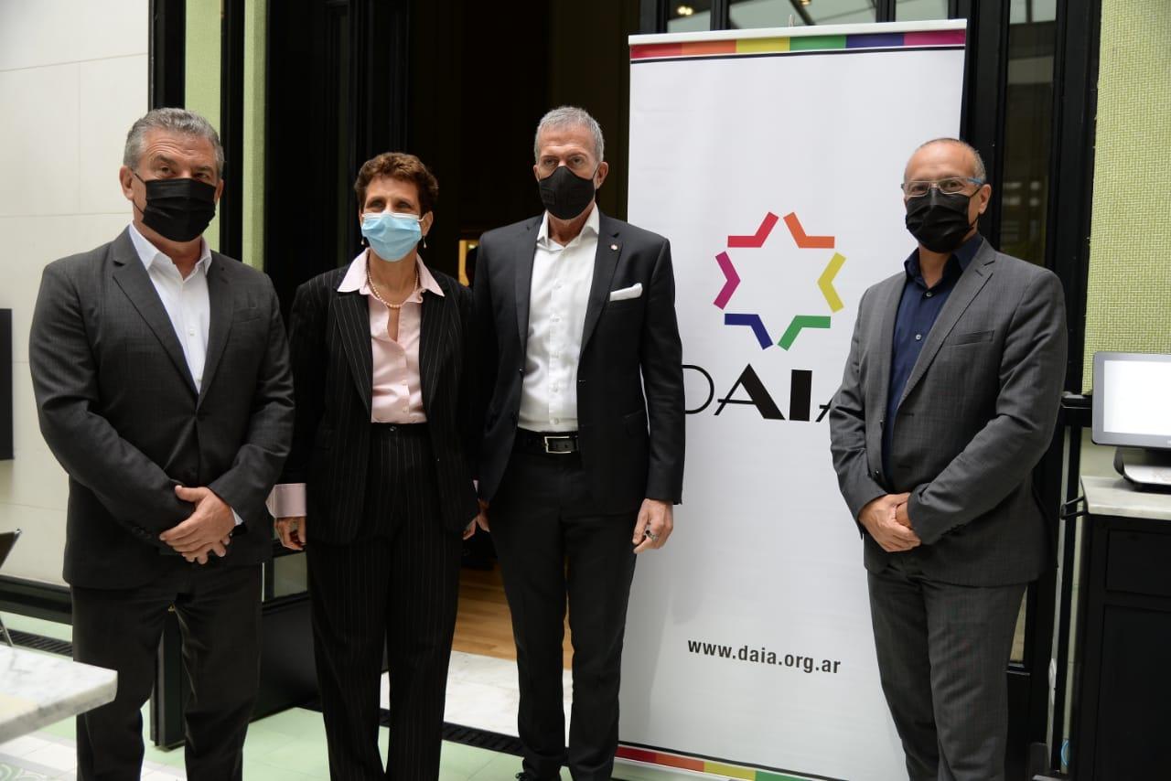 La DAIA recibió a la delegación de médicos del Hospital Hadassah de Israel