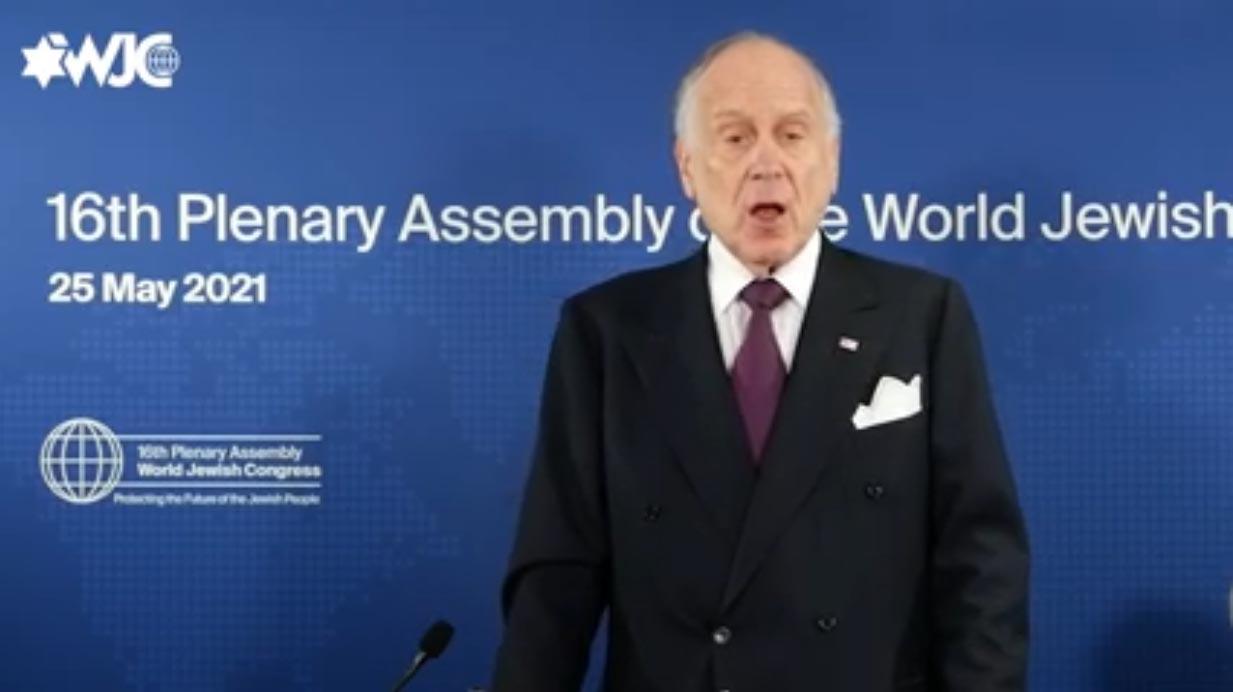 La DAIA participó en el cierre de la Asamblea Plenaria del WJC