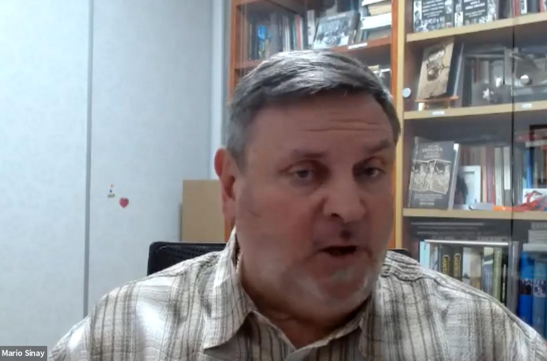 Mario Sinay brindó una charla sobre antisemitismo